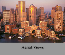 Boston Skylines: Aerial