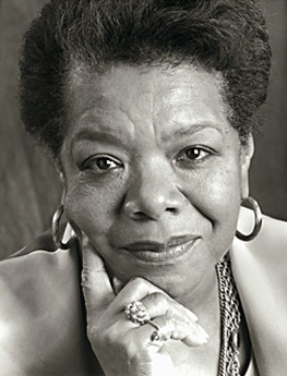 Maya Angelou, for Random House